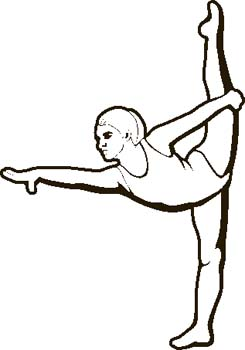 Kids gymnastics clipart black and white png transparent download Free Gymnast Cliparts, Download Free Clip Art, Free Clip Art ... png transparent download