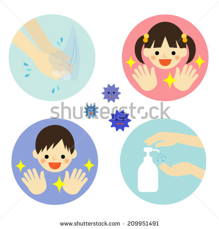 Kids hand washing clipart jpg library download Kids Washing Hands Stock Photos, Royalty-Free Images & Vectors ... jpg library download