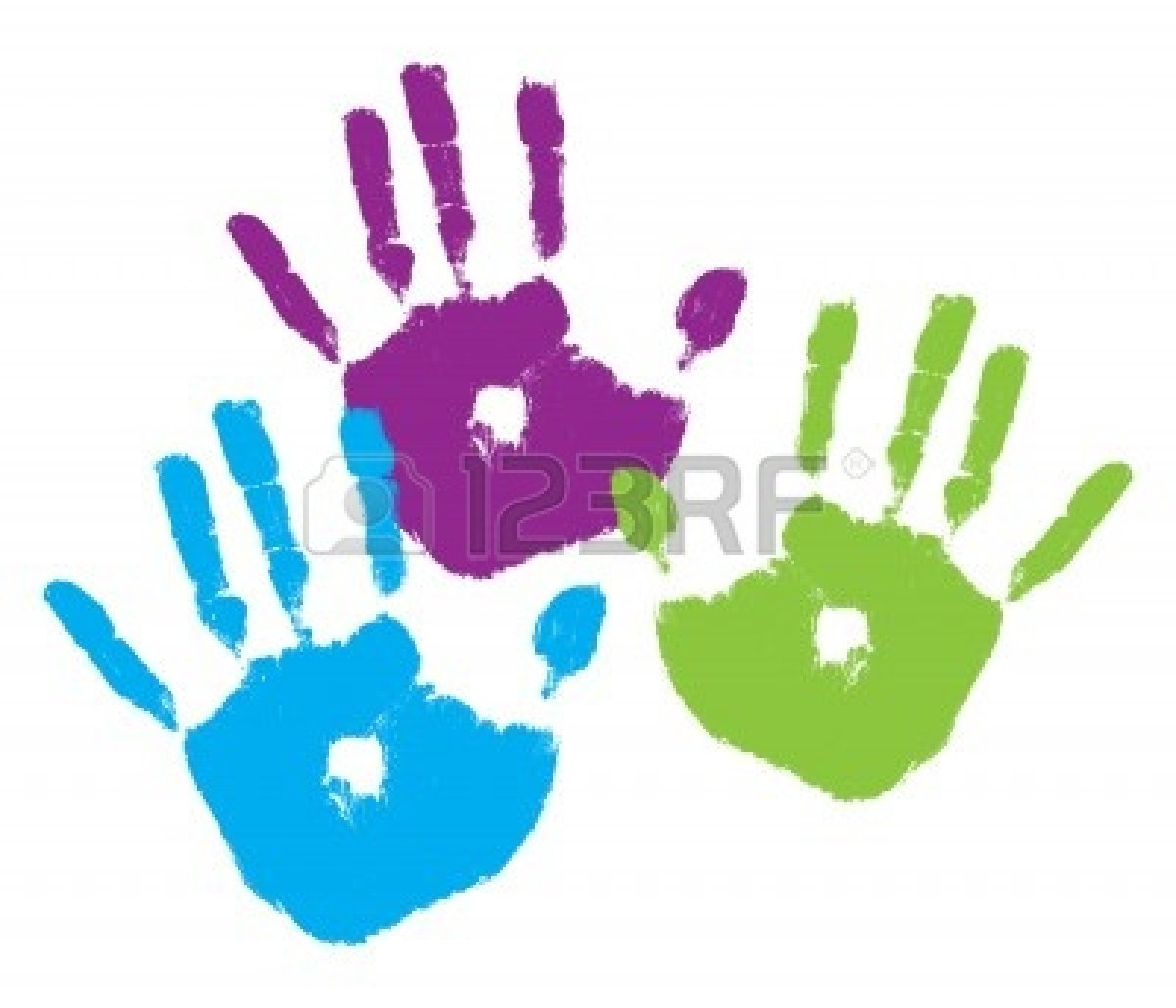 Kids handprint clipart png transparent Kids Handprint Clipart free image png transparent