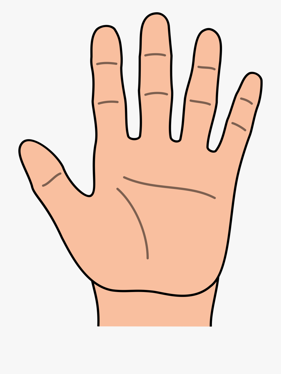 Kids hands clipart clip art free download Hands Hand Outline Clipart Kid - Hand Clipart #93125 - Free ... clip art free download
