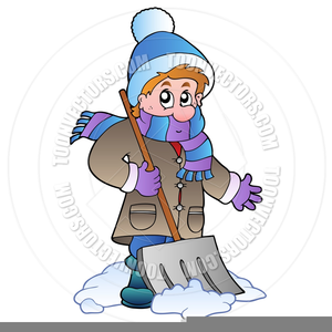 Kids helping shovel snow the snow clipart png library download Snow Shoveling Clipart | Free Images at Clker.com - vector ... png library download
