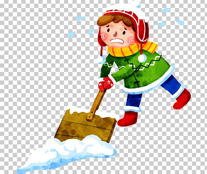 Kids helping shovel snow the snow clipart jpg black and white download Snow Shovel PNG, Clipart, Cartoon, Child, Christm, Christmas ... jpg black and white download