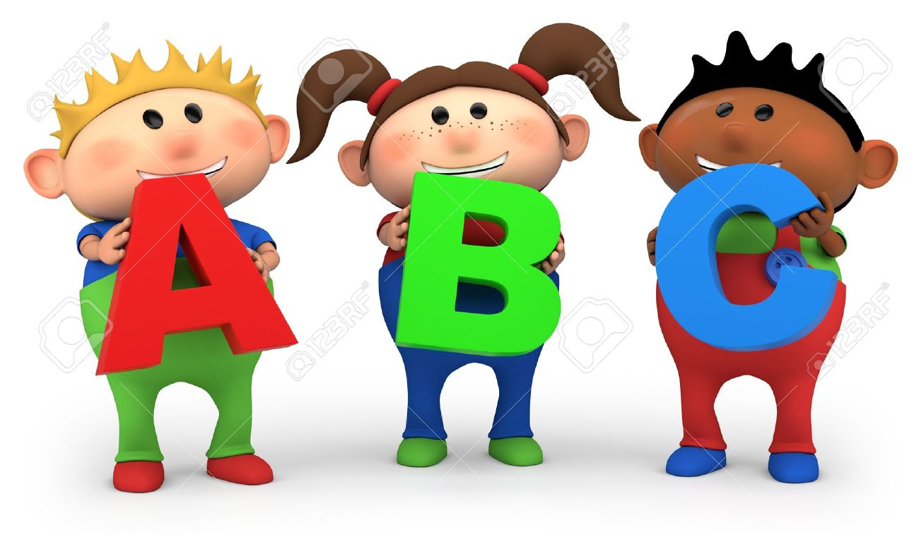 Kids holding alphabet letters clipart clip freeuse download 11,515 Colored Letters Stock Vector Illustration And Royalty Free ... clip freeuse download