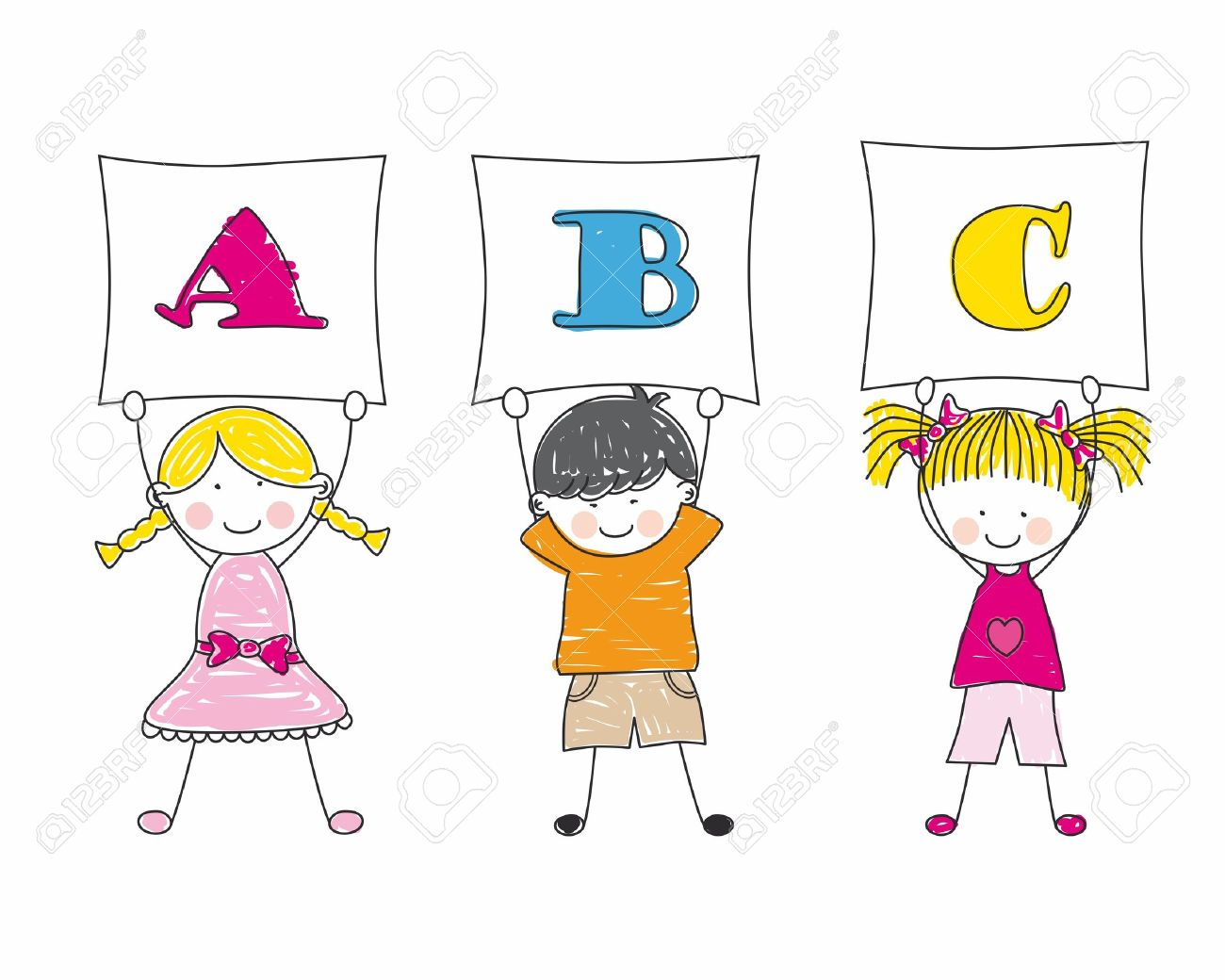 Kids holding alphabet letters clipart banner library download Kids holding alphabet letters clipart - ClipartFest banner library download