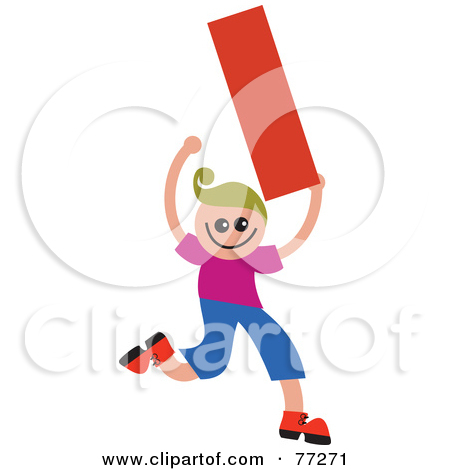 Kids holding alphabet letters clipart picture freeuse download Royalty-Free (RF) Clipart Illustration of an Alphabet Kid Holding ... picture freeuse download