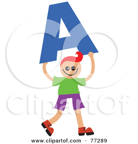 Kids holding alphabet letters clipart letter j picture royalty free Clipart Colorful Alphabet Letters With Eyes - Royalty Free Vector ... picture royalty free