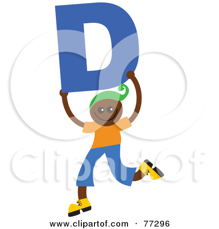 Kids holding alphabet letters clipart letter o freeuse download Posters of Letters & Art-prints of Letters #135 freeuse download