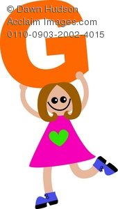 Kids holding alphabet letters clipart letter o banner library Clipart Illustration of a Happy Little Child Holding a Letter of ... banner library