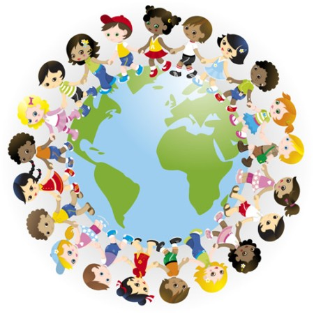 Kids holding hands around the world clipart image transparent download Free Children Holding Hands Clipart, Download Free Clip Art ... image transparent download