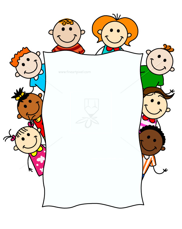 Kids holding sign clipart clipart library download Kids Holding Banner | Free vectors, illustrations, graphics ... clipart library download