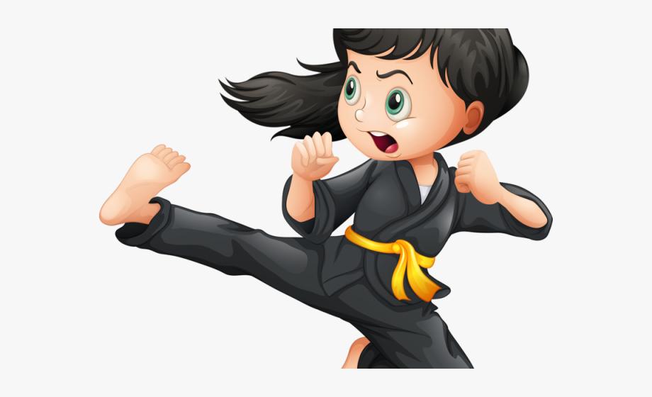 Karate kids clipart vector freeuse download Karate Clipart Karate Kid - Brave Girl #2127975 - Free ... vector freeuse download