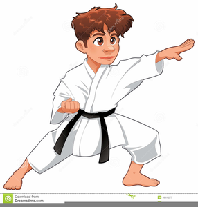 Karate kids clipart clip royalty free Clipart Free Karate Kid   Free Images at Clker.com - vector ... clip royalty free