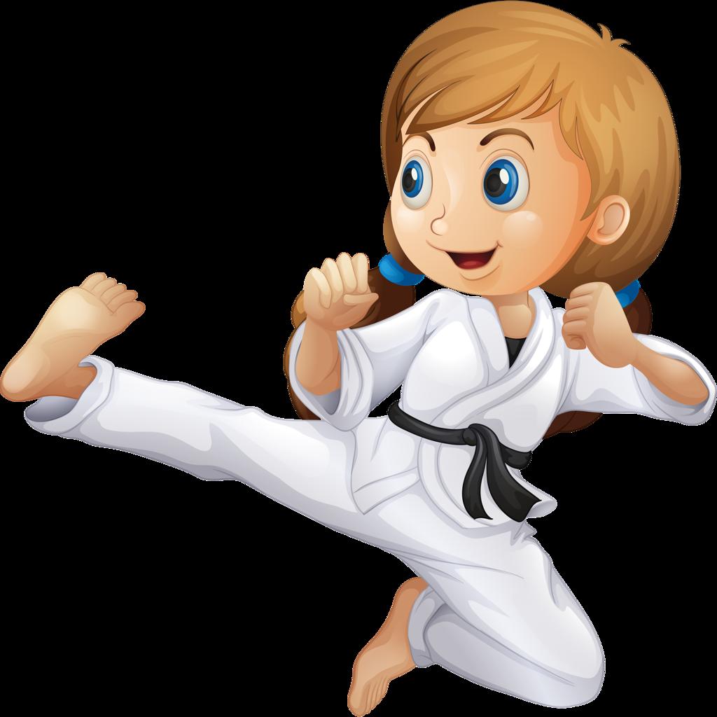 Karate kids clipart banner royalty free karate kid clipart #88   sport   Karate, Taekwondo kids ... banner royalty free