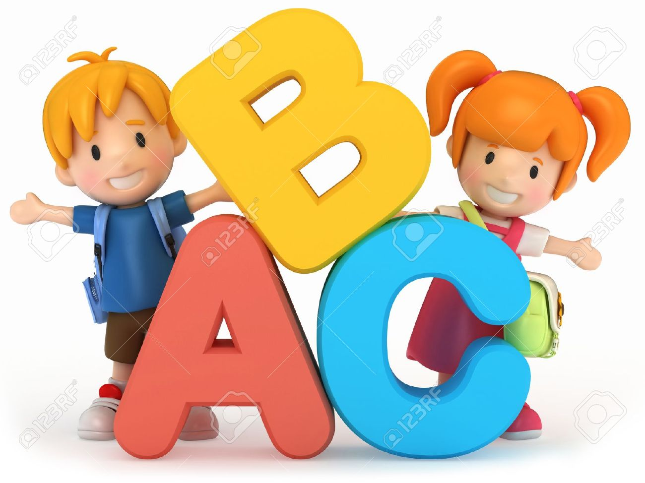 Kids learning abc clipart royalty free Abc kids clipart - ClipartFest royalty free