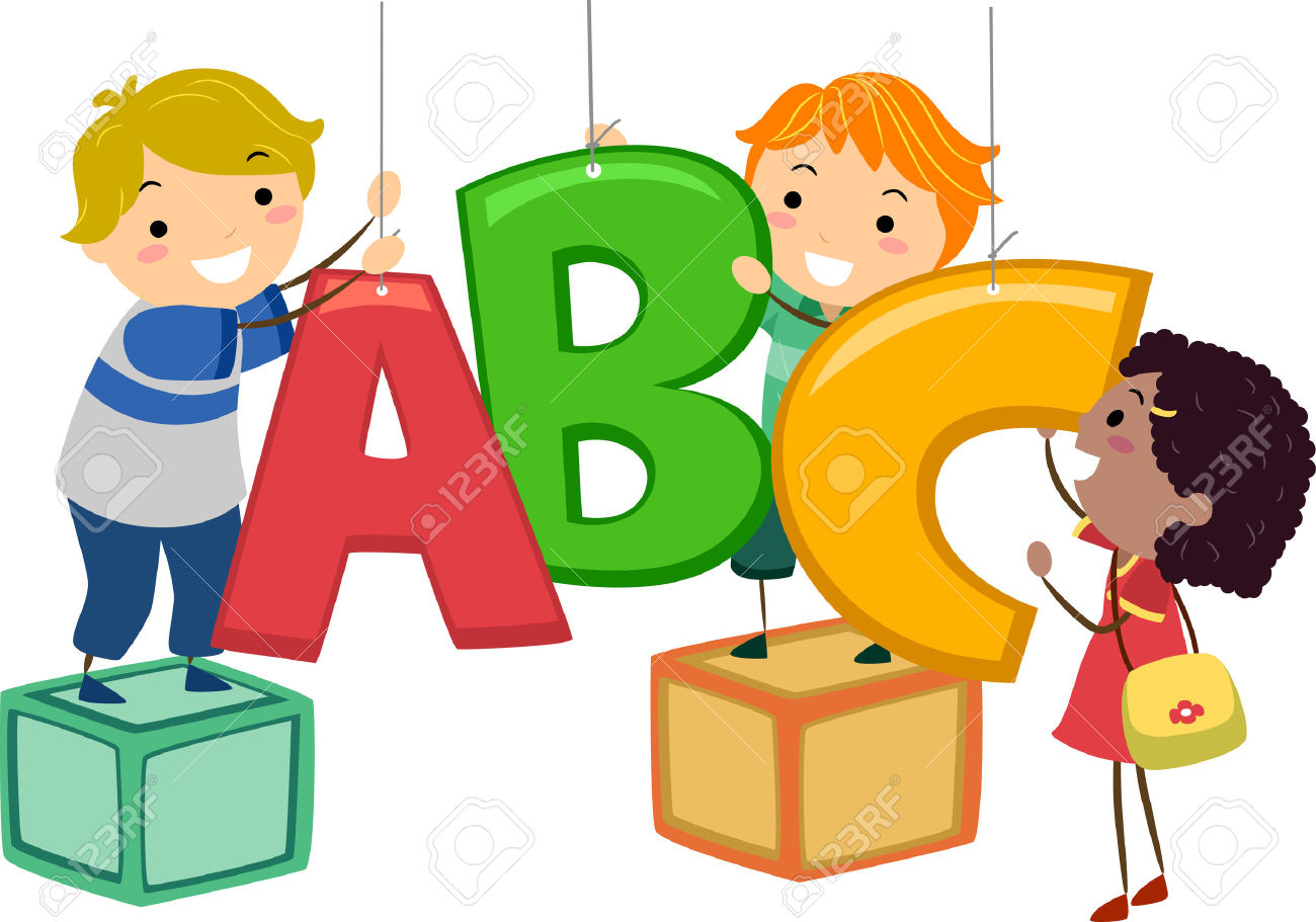 Kids learning abc clipart banner download Abc Girl Stock Photos Images. Royalty Free Abc Girl Images And ... banner download