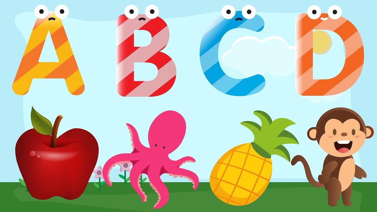 Kids learning abc clipart jpg Alphabet for Toddlers to Learn - Learn Alphabet for Children ... jpg