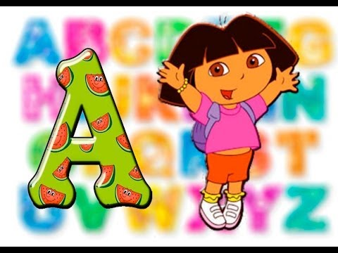 Kids learning abc clipart graphic transparent download Learn the spelling with Dora! Alphabet Songs ABC, Nursery Rhymes ... graphic transparent download