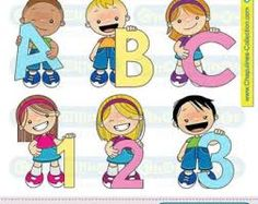 Kids learning abc clipart banner black and white download Image result for kids learning abc clipart   Clipart   Pinterest ... banner black and white download