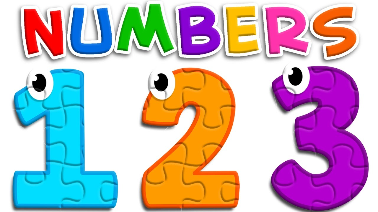 Kids learning numbers clipart clip transparent Learn Numbers with Puzzle Toys - Colors and Numbers Videos for Children -  Learning Videos clip transparent