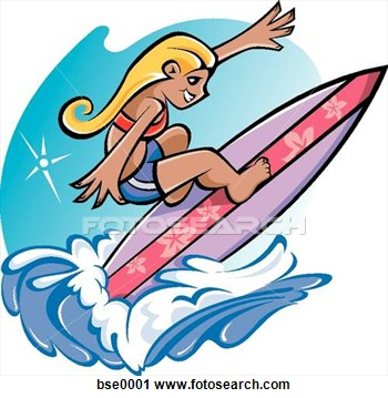 Kids on surfboard clipart clipart transparent Surfing Clipart - Clipart Kid clipart transparent