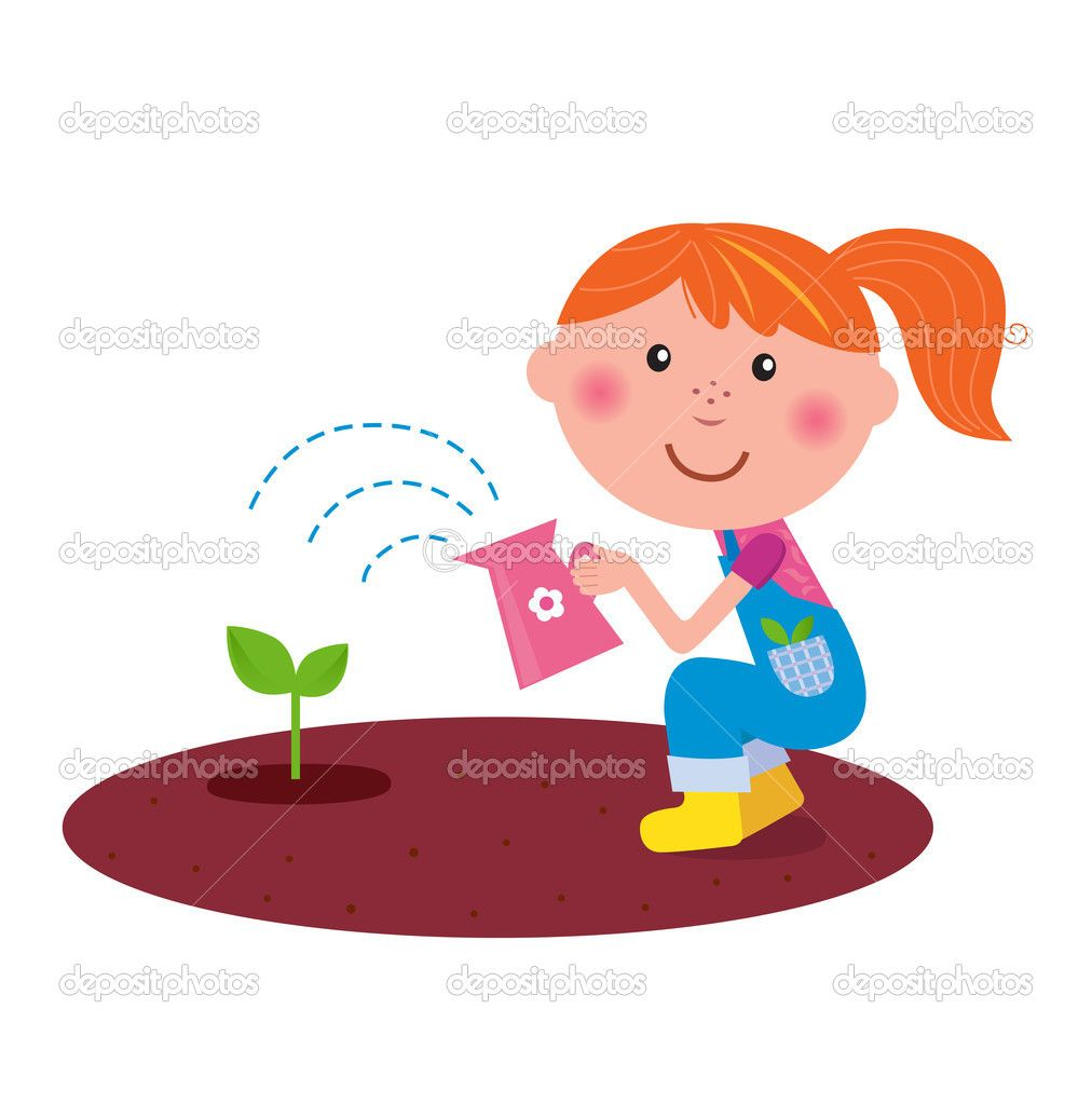 Kids planting flowers clipart download Girl Planting Flowers Clipart - Clipart Kid | pigeon ... download