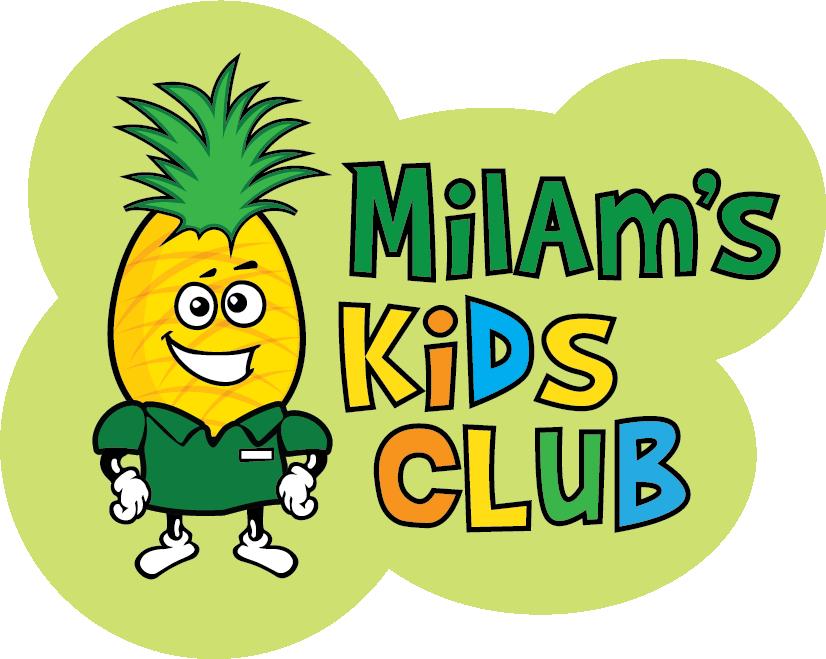 Kids playing american football clipart clip art Milam's Market   Kids Club clip art