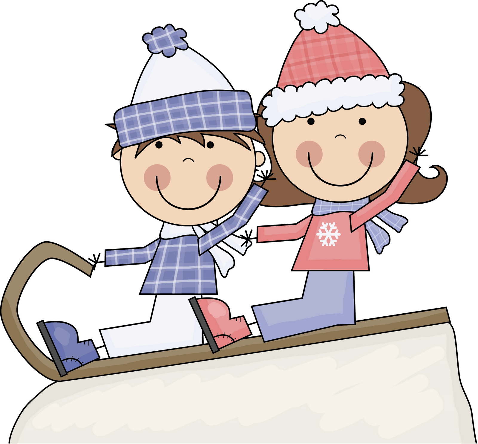 Kids playing in snow clipart transparent background svg royalty free library Playing in snow clipart clipart images gallery for free ... svg royalty free library