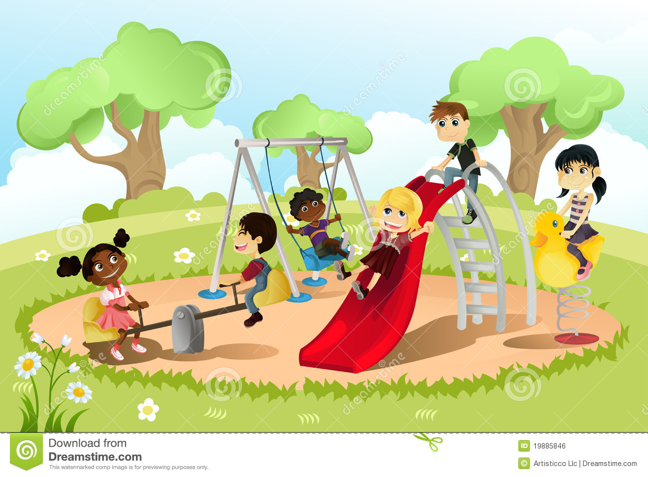 Kids playing in the park clipart clipart Children playing in the park clipart 14 » Clipart Station clipart