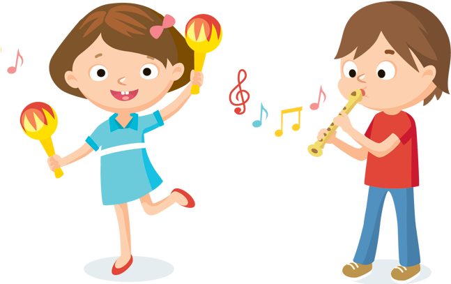 Kids playing music clipart png transparent stock Download Graphic Library Collection Of Kids Playing High ... png transparent stock