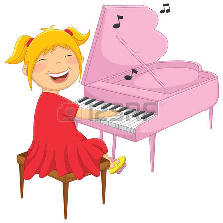 Kids playing piano clipart banner transparent stock Piano Cartoon Clipart | Free download best Piano Cartoon ... banner transparent stock