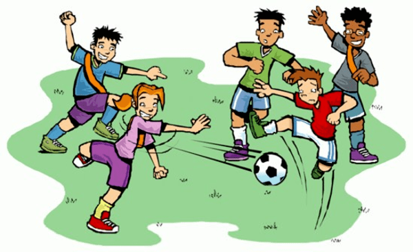Kids playing soccer clipart picture black and white stock Kids playing soccer clipart » Clipart Portal picture black and white stock