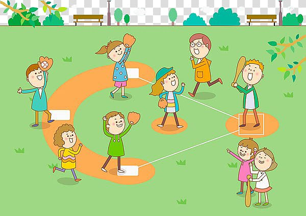 Kids playing tag at the park clipart picture transparent stock Samsung Lions Baseball park Home run, Kids play baseball ... picture transparent stock
