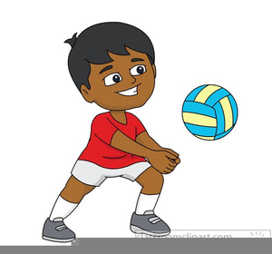 Kids playing volleyball clipart black and white svg freeuse download Kids Playing Volleyball Clipart | Free Images at Clker.com ... svg freeuse download