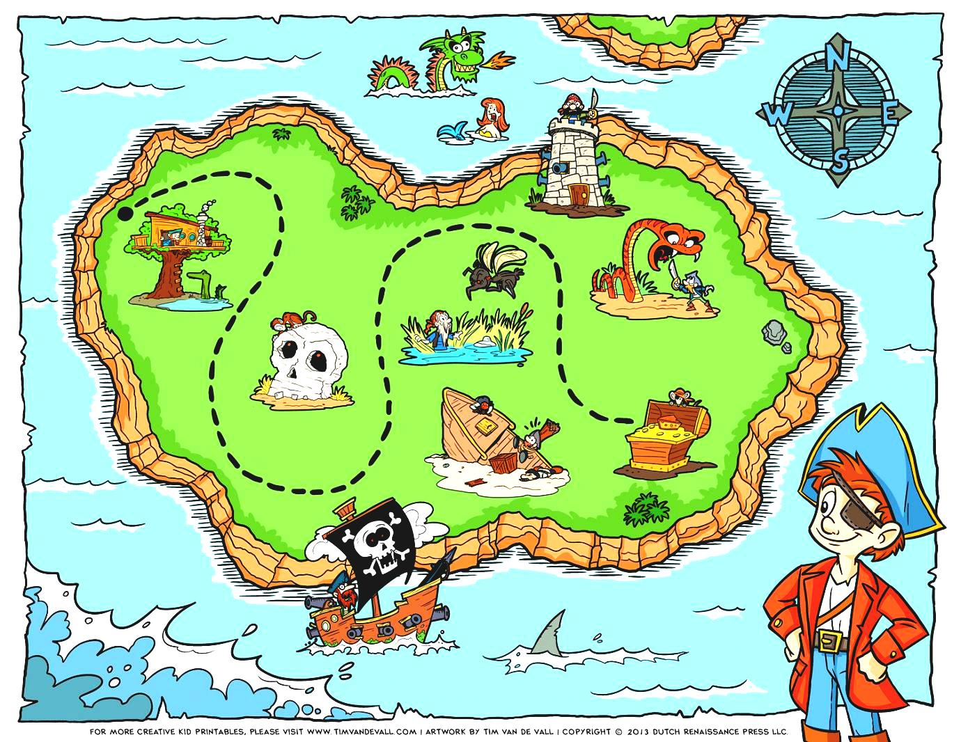 Kids road map clipart png download Travel Map Clipart Telescope Compass Navigation Sea Ocean Journey ... png download