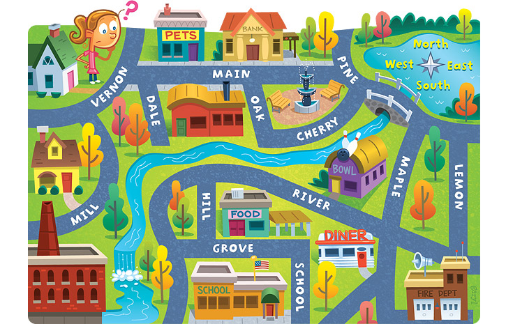 Kids road map clipart png free stock Kids road map clipart - ClipartFest png free stock