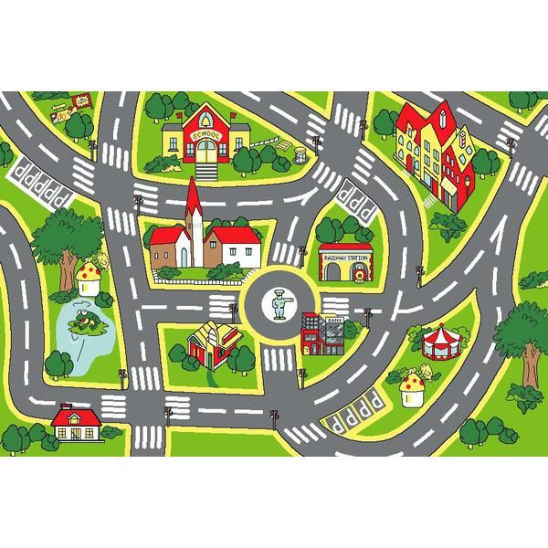 Kids road map clipart picture freeuse library 17 Best images about Play mats on Pinterest | Spotlight, Cars and Kid picture freeuse library