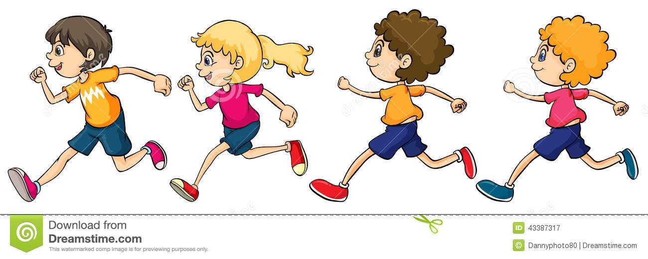Kids running a race clipart jpg freeuse stock 101+ Clipart Running | ClipartLook jpg freeuse stock