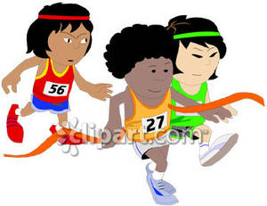Kids running a race clipart banner freeuse Kids Running A Race Clipart | Clipart Panda - Free Clipart ... banner freeuse
