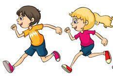 Kids running around clipart vector library download kids-running-clip-art – New School Montessori Center vector library download