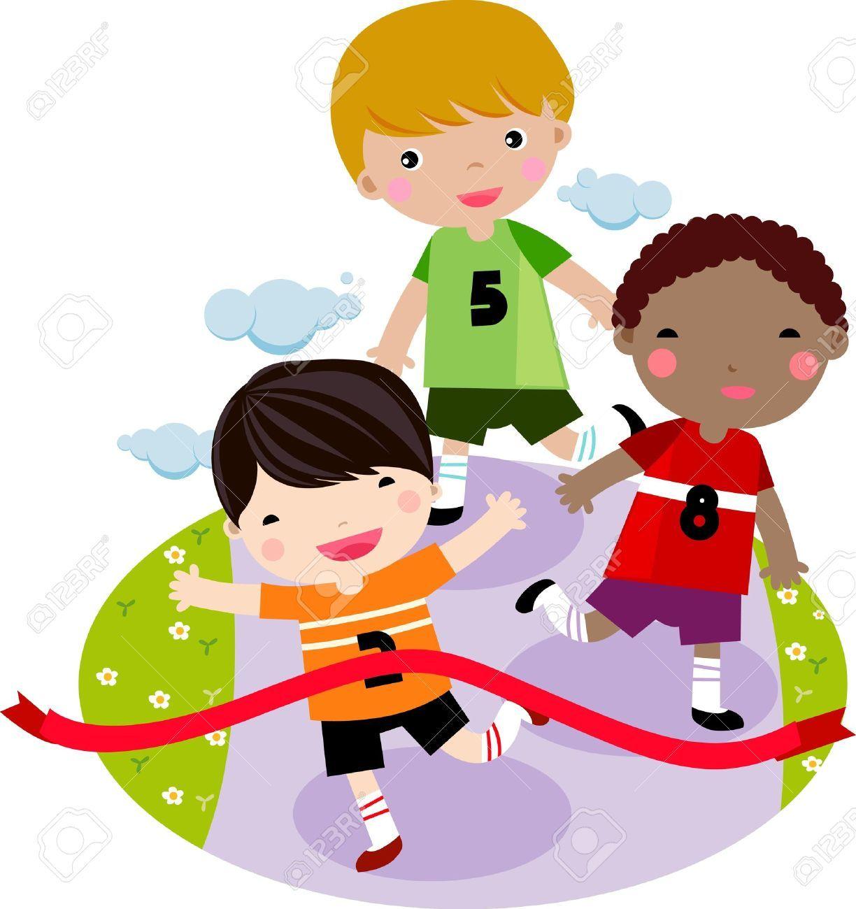 Kids running around clipart banner black and white download Clipart kids running 5 » Clipart Portal banner black and white download