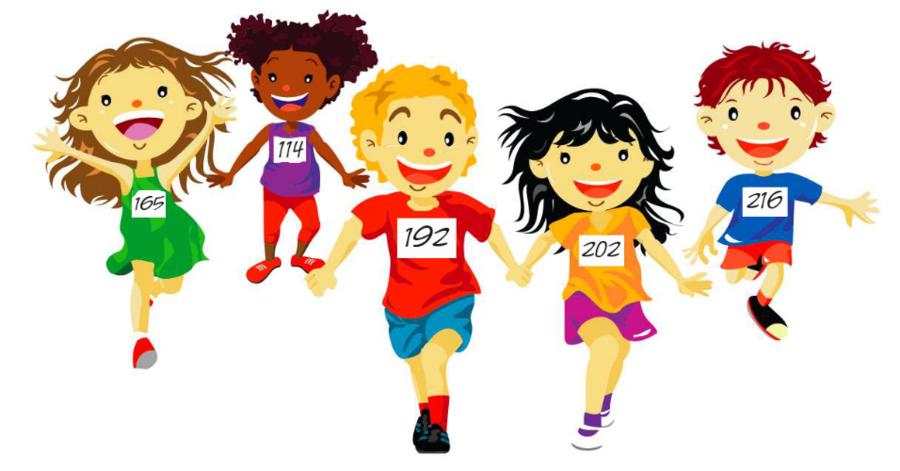 Kids running around clipart image black and white download Running Cartoon clipart - Running, Racing, Child ... image black and white download