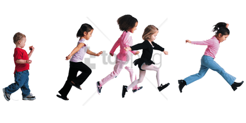 Kids running with fear black and white clipart transparent library Child Running Png , (+) Png Group - romolagarai.org< transparent library