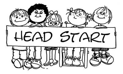 Kids school end of year clipart black and white image free stock Head Start image free stock
