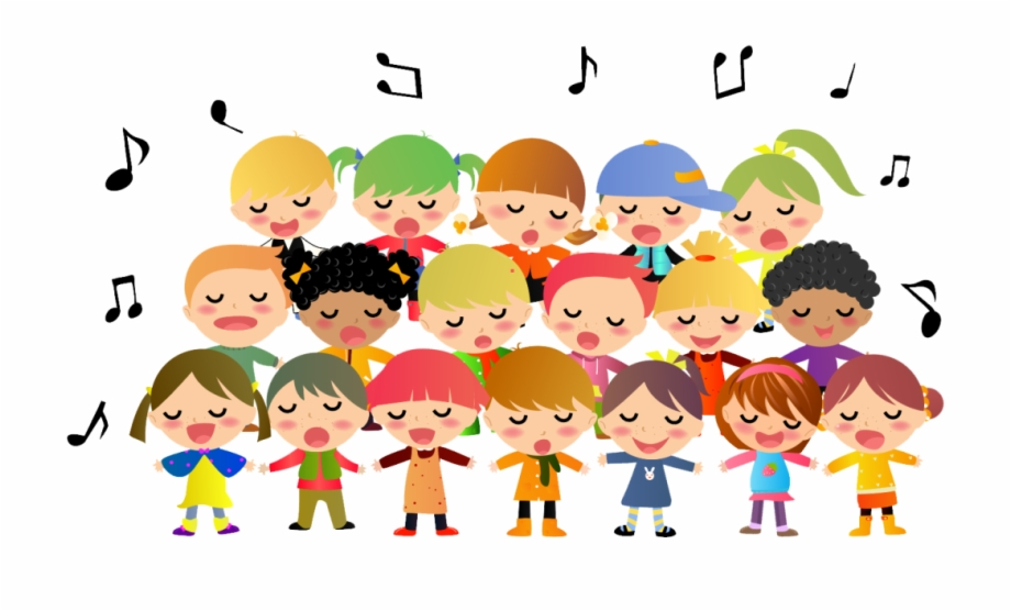 Kids singing clipart graphic free library Children Singing Clipart Free PNG Images & Clipart Download ... graphic free library