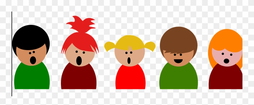 Kids singing clipart transparent library Kids, Singing Clipart (#4108080) - PinClipart transparent library