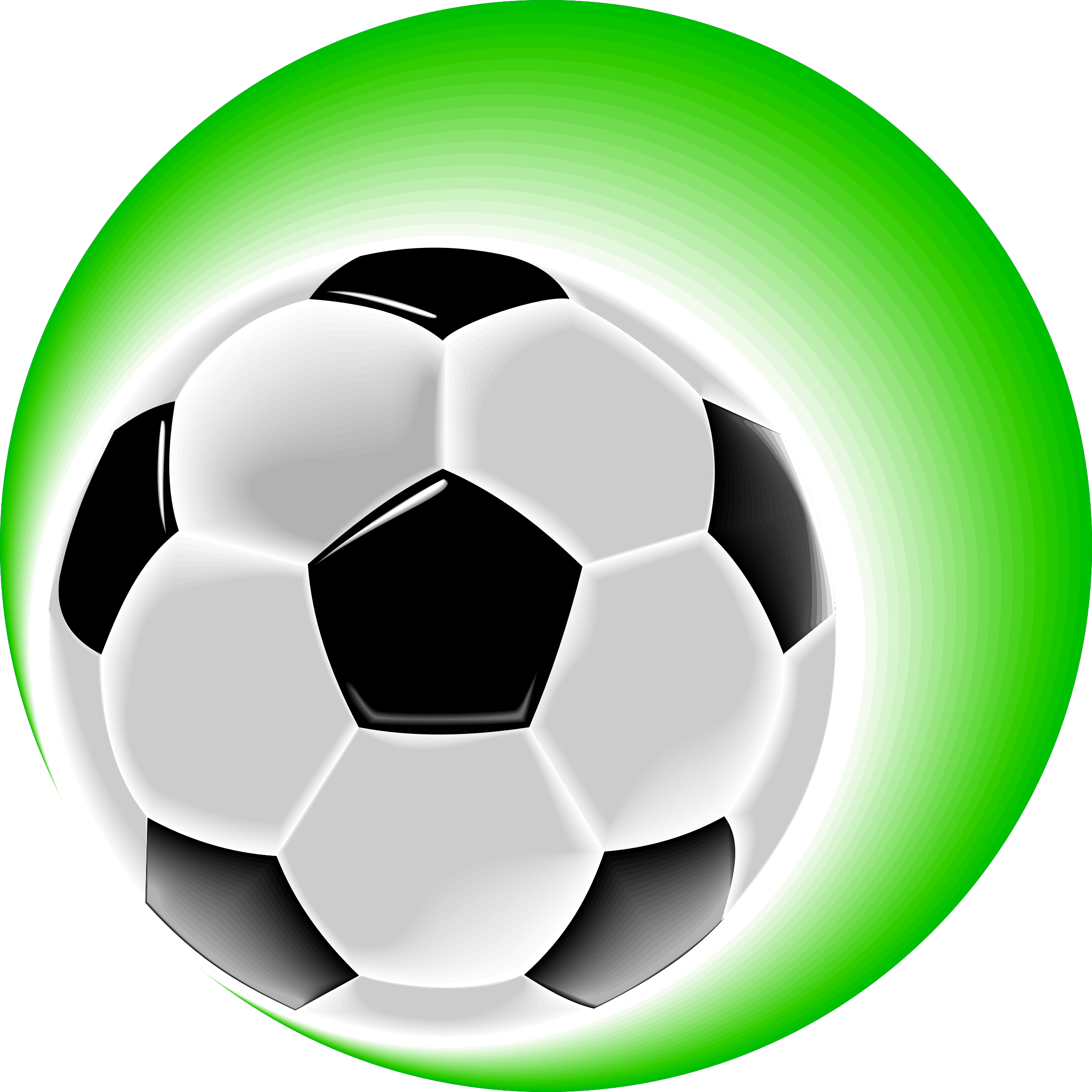 Kids soccer ball clipart image black and white library Clipart - soccerball image black and white library
