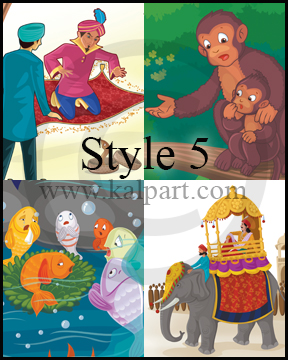 Kids storybook flying clipart banner free Kid's/Children Storybook Illustrations, Drawing Cartoon Pictures ... banner free
