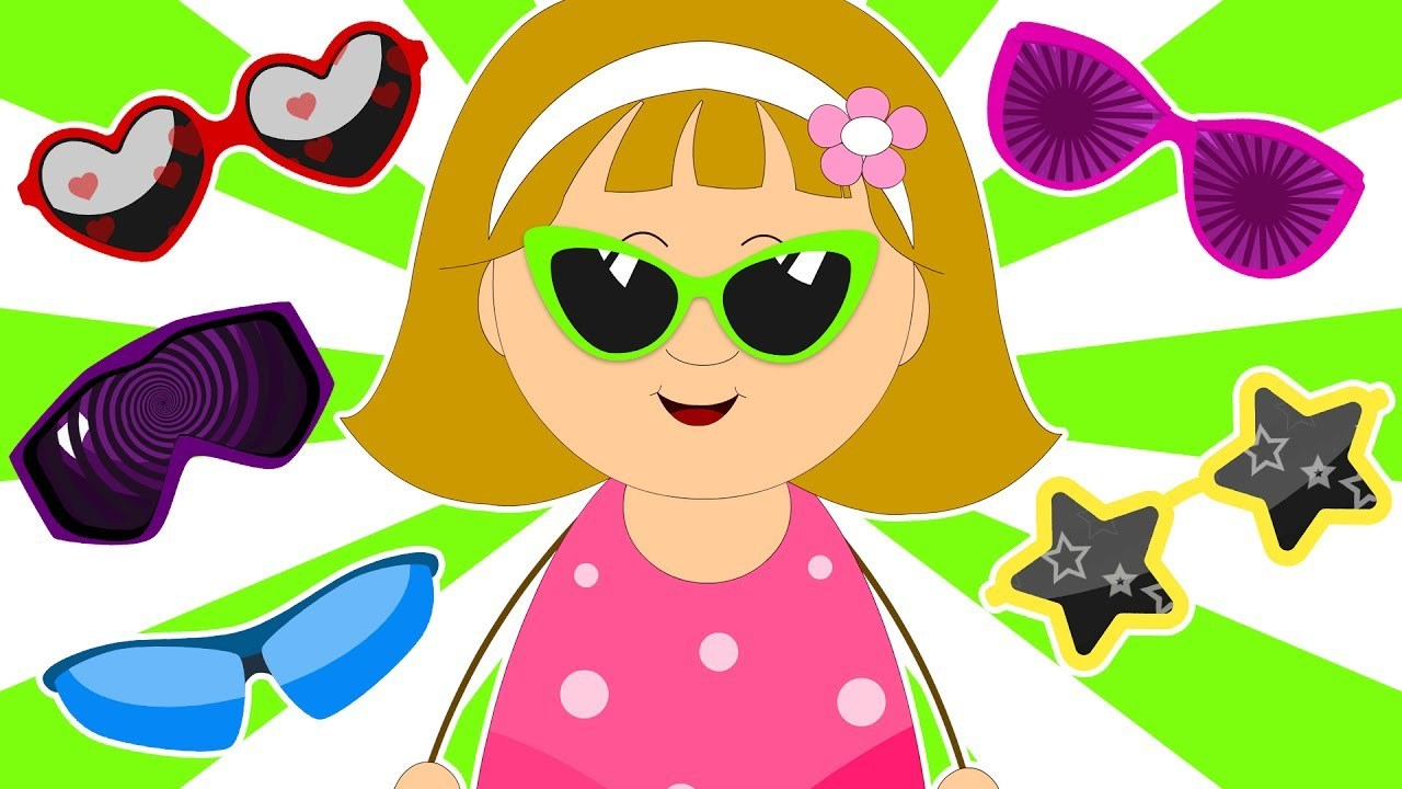 Kids sunglasses clipart vector free stock Kids sunglasses clipart 4 » Clipart Portal vector free stock