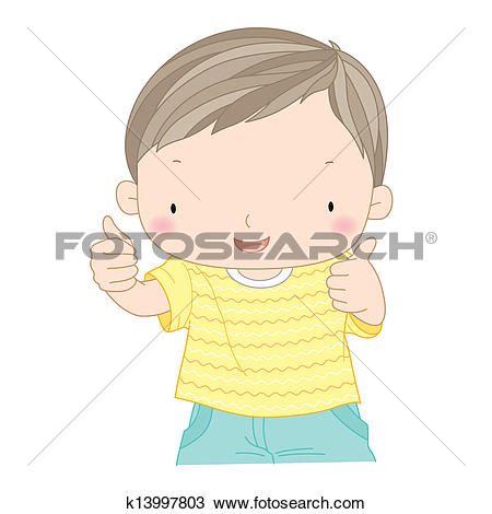 Kids thumbs up clipart clip art library library Clipart of kids showing thumb picture k11675773 - Search Clip Art ... clip art library library