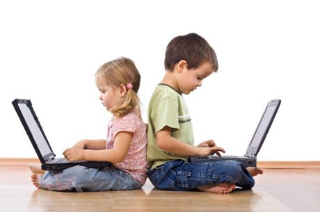 Kids using technology in future clipart image free stock Here\'s How You Can Prevent Gadget Addiction In Your Child image free stock
